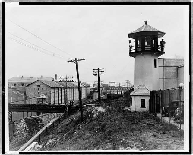 Bloque celular viejo, Sing Sing Prisión donde se encuentra Richard Whitney