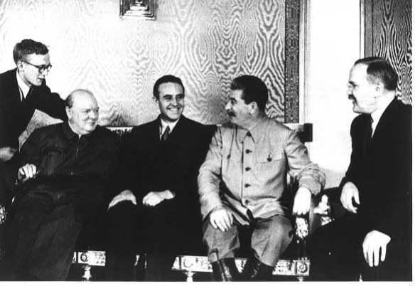 Harrima, Churchill, Stalin