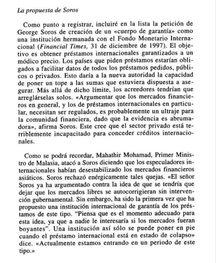 George Soros Leviatan 1999