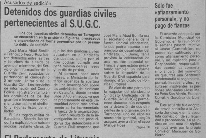 Manuel Rosa Recuerda Diario de Burgos 1990 1